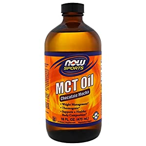 NOW Foods MCT Oil Chocolate Mocha