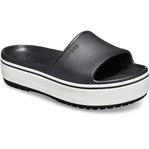 Crocs Women's Crocband Platform Slide Sandal