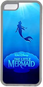 iphone 4/4s iphone 4/4s phone shell with Disney The Little Mermaid Theme Transparent Phone Accessories Customized by the Angelcase
