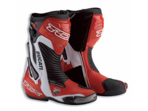Ducati Corse 2013 Road Race Motorcycle Boot by TCX Moto GP SBK US 8.5 Euro 41 ()
