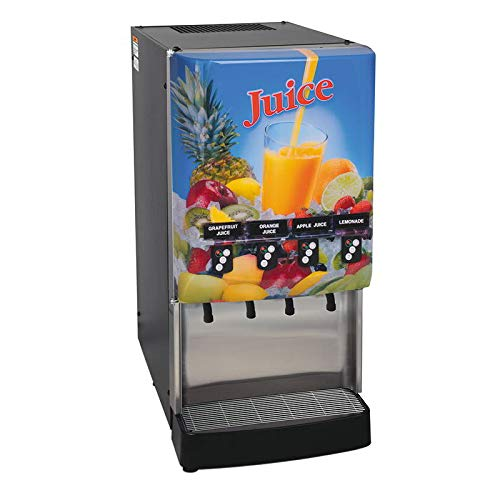 Bunn JDF-4S-0023 4-Flavor Cold Beverage System, Portion Cont