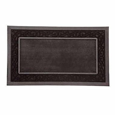 Evergreen Doormat Tray, Black