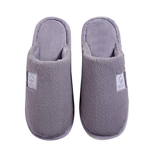 Coste Invernali Grey Pantofole Jia Inverno Velluto 38 42 Spesse Con In 39 Antiscivolo Da Hong red1 Cotone Casa Donna 43 Calda A qOrZpqHw