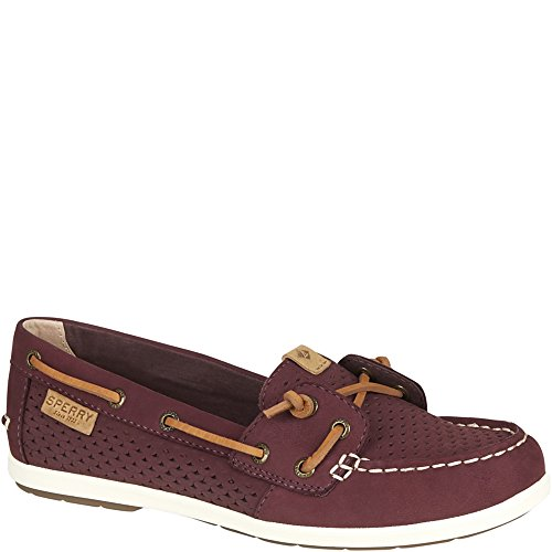 Ivy Emboss Boat Sperry Grape Coil Women's Scale Shoes 7wv44aEqn