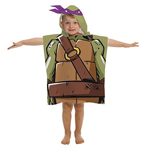- Nickelodeon Teenage Mutant Ninja Turtles Donatello Hooded Towel
