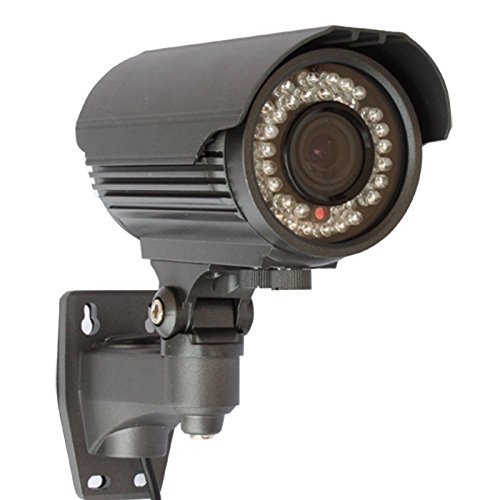 GW Security Inc GW-706WD-VD 1/3-Inch Exview HAD CCD II Effio-E Surveillance Security Camera 700 TV Lines, 2.8 to 12mm Lens, 42 Pieces IR LED and 131-Feet IR Review