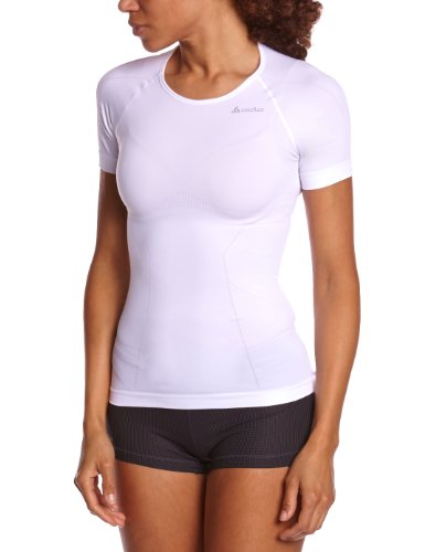 (Odlo EVOLUTION LIGHT Shirt, s/s, crew neck white (Size: XL) underwear)