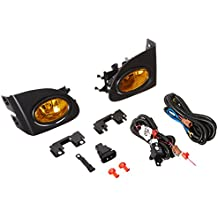 Spec-D Tuning LF-CV023AMOEM-HZ For Honda Civic Si 3DR Amber Lens OEM Style Fog Lights+Bulbs+Switch
