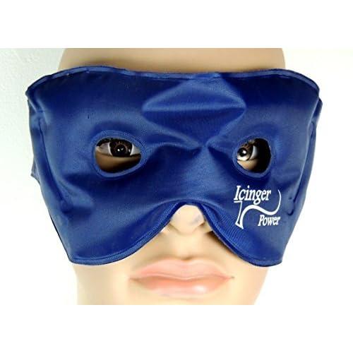 Masque de gel chaud froid pour détendre les yeux - 120 gr. de gel pour une haute efficacité