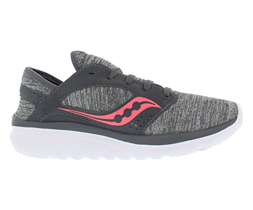 Shoe Grey Relay Coral Women's Kineta Heather Saucony Running vwBPFwq