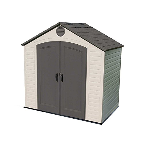 Lifetime 6418 Outdoor Storage Shed, 8 by 5 Feet (Target Outdoor Storage)