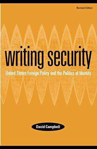 Writing Security