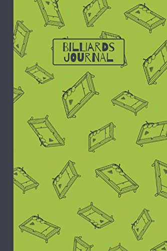 Billiards Journal: Blank Lined Notebook for Billiard Lovers