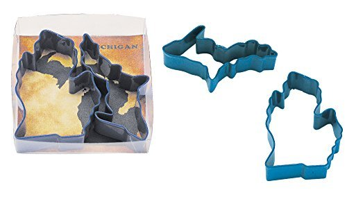 R & M Industries Michigan Theme Cookie Cutters (Set of 2), Multicolor by R & M Industries