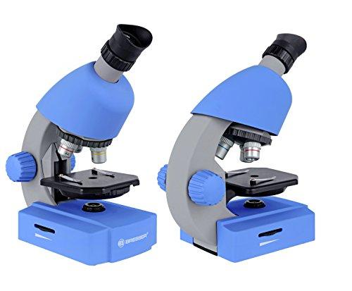 Bresser junior einsteiger mikroskop mit durchlicht led