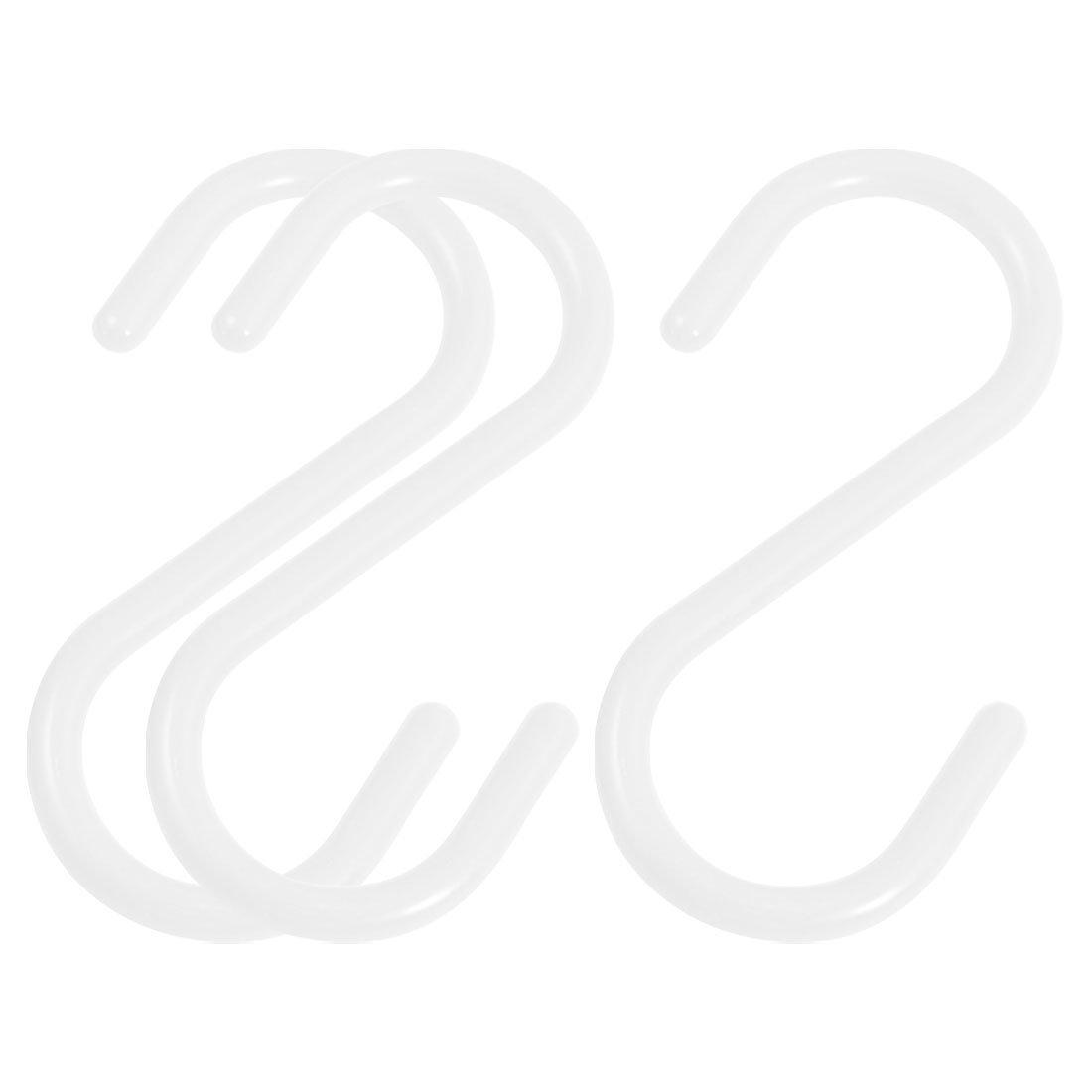 Sodialr3 Stueck Haushalt Kunststoff S Haken Kleidung Tuch