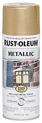 Rust-Oleum 286524 Stops Rust Metallic Sp...