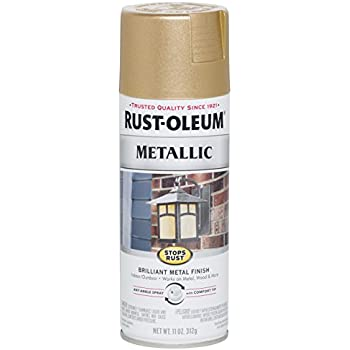 Amazon Com Rust Oleum 1910830 Spray Paint Each Gold Home