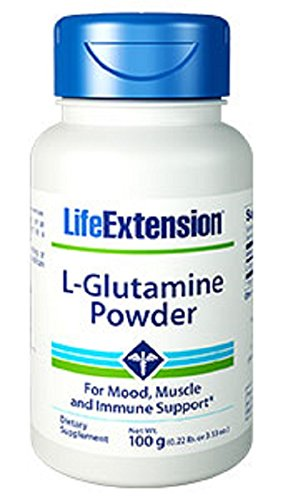 Life Extension L-Glutamine 100 Gram Powder ()