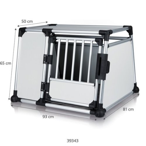 Car Dog Cage Dog Transport Cage Aluminium Dog Transport Box for Cage Large Size