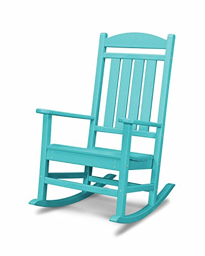 (POLYWOOD R100AR Presidential Rocking Chair, Aruba)