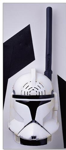 Star Wars Attack of the Clones Walkie Talkies Clone Trooper & Jango Fett by Tiger Electronics (Image #2)