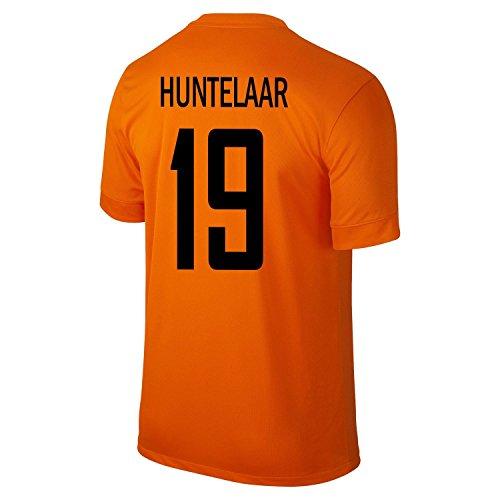 着替える視線イデオロギーNike Huntelaar #19 Holland Home Jersey 2014-15 -Youth/サッカーユニフォーム オランダ ホーム用 フンテラール 背番号19 ジュニア向け
