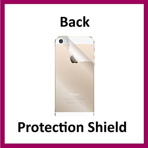 iPhone 5s (Motiv Shield enthalten) unsichtbar Rückenprotector militärtauglichem Schutz Hülle exklusiv von ACE