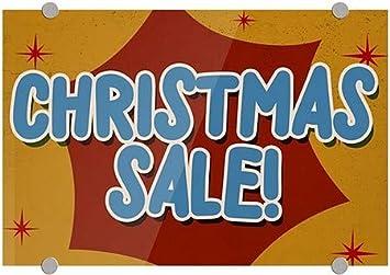 Chalk Burst Premium Brushed Aluminum Sign Holiday Sale 5-Pack 24x6 CGSignLab
