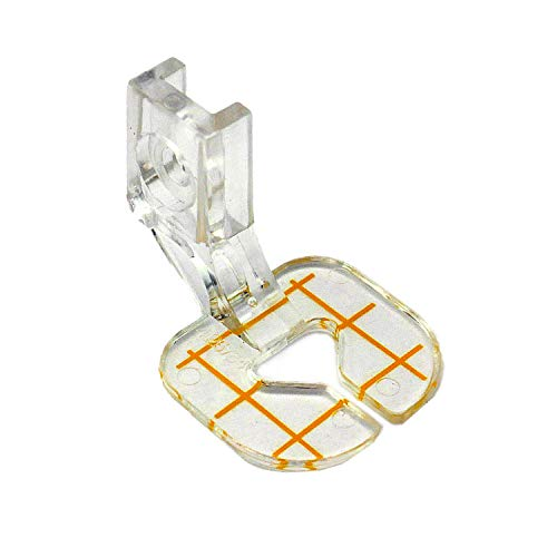 Free Motion Clear Guide Foot #4125764-45 for Husqvarna Viking Sewing Machine (Husqvarna Viking Free Motion Foot)