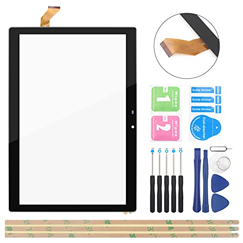 OCOLOR Black Touch Panel Digitizer Replacement