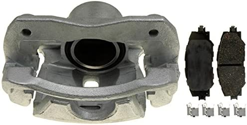 Remanufactured Loaded ACDelco 18R2645 Professional Front Driver Side Disc Brake Caliper Assembly with Pads