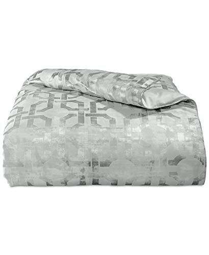 Hotel Collection Fresco Woven Jacquard King Duvet Cover Sage ()