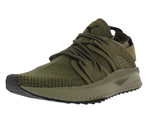 PUMA Men's Tsugi Blaze Evoknit Sneaker, Falcon-Olive Night,