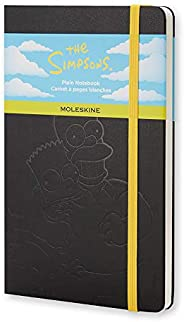Moleskine The Simpsons Limited Edition - Cuaderno (tapa dura), Negro, Large