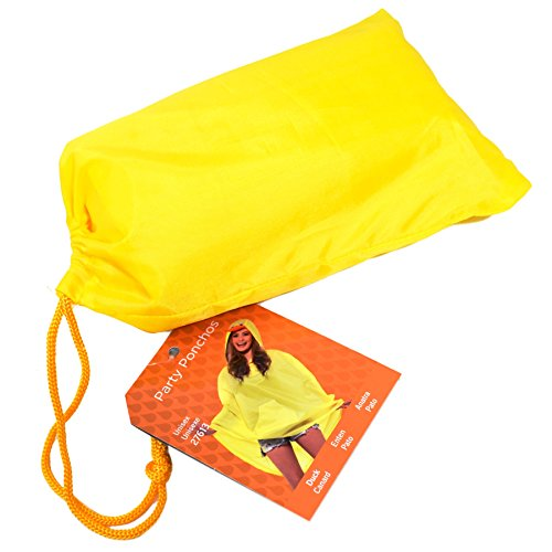 [Adult's Duck Party Poncho] (Duck Costumes Adult)