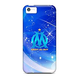Case Cover Olympique Marseille/ Fashionable Case For Iphone 5c