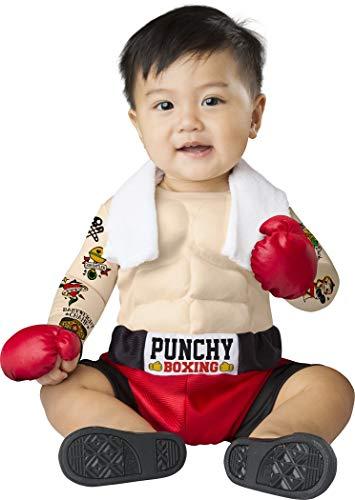 Fun World Boys' Baby Bruiser, Multi, L -