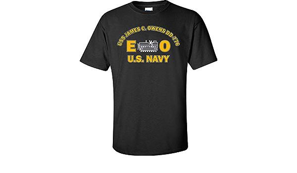 US USN Navy USS James C Owens DD-776 Destroyer T-Shirt
