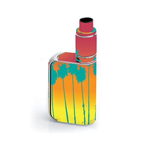 Skin for Smok OSUB King 220W - Sherbet Palms  MightySkins Protective, Durable, and Unique Vinyl Decal wrap cover   Easy To Apply, Remove, and Change Styles   Made in the (Sherbet Mint)