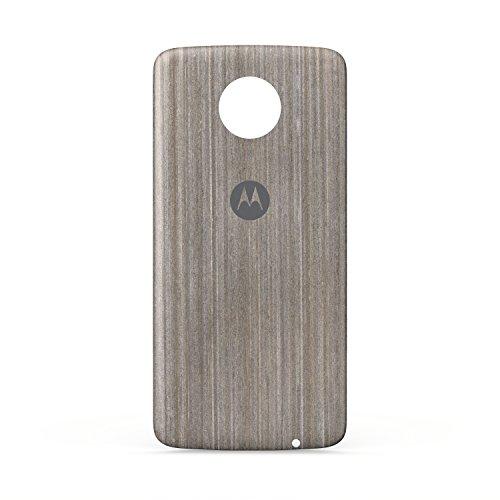 Motorola Other for Moto Z, Moto Z Force, Silver Oak Wood (Motorola Shells Moto E)