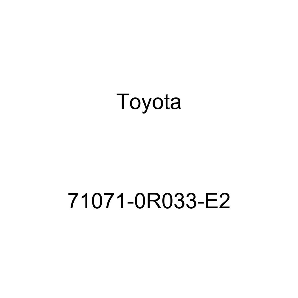 TOYOTA Genuine 71071-0R033-E2 Seat Cushion Cover