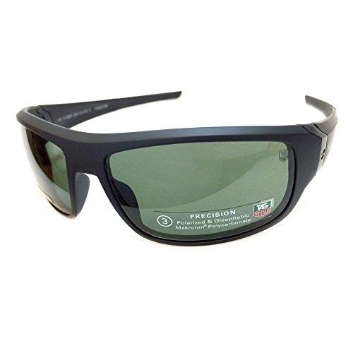 - Tag Heuer 9221 Racer 2 Sunglasses Color 304 Matte Black Size 64MM Polarized