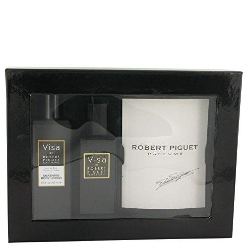 robert-piguet-visa-3-piece-gift-set-eau-de-parfum-spray-plus-silkening-body-lotion-plus-book