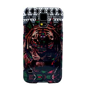 Tribal Carpet Tiger Pattern Hard Case Cover for Samsung Galaxy S5 I9600
