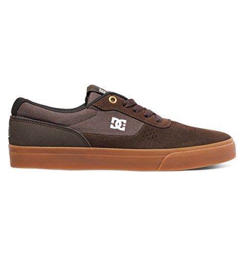 DC Skateboard Switch Signature Skate Schuh - Männer Braun / Gum
