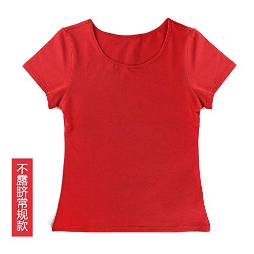 Vestido Femenino Superior Parte Arnés El De Del GAOLIM Modelos Rojo La Tubo Vacaciones Umbilical Convencionales Exponga Plisado No L 8CqwBgz