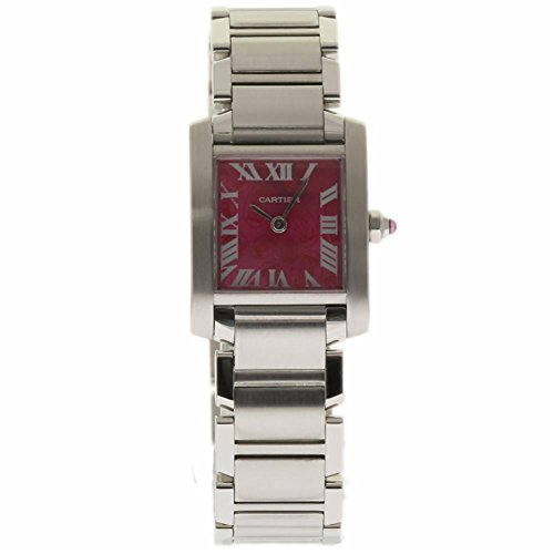 Cartier Tank Francaise swiss-quartz womens Watch W51030Q3 (Certified Pre-owned)