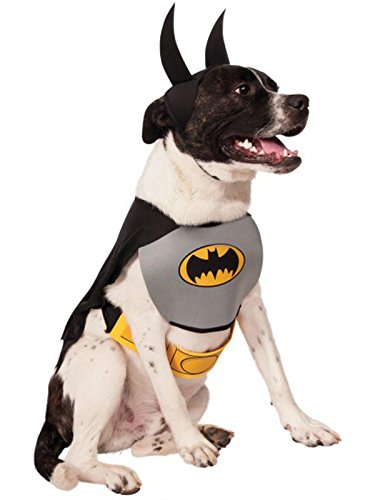 DC Comics Pet Costume, Classic Batman, Small -