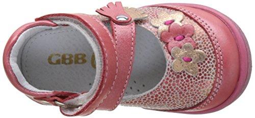 GBB 17E207, Zapatos Mary Jane Bebé Rojo (Vte Corail Dpf/2787)